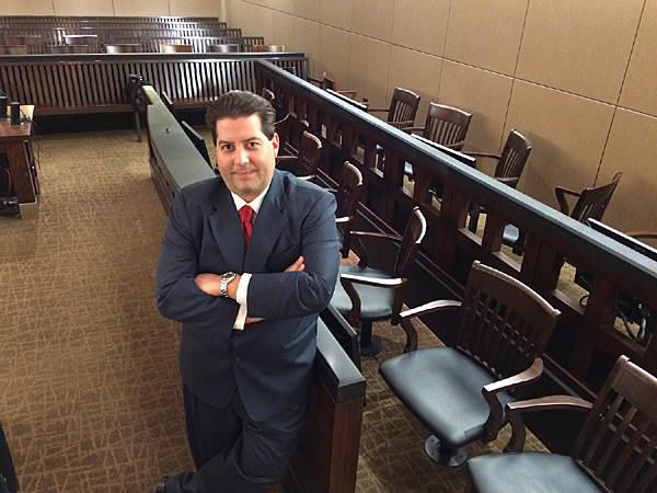 Miguel Najera in the Courtroom